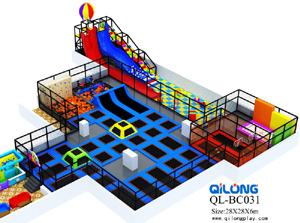 hot selling customized children adults jump indoor trampoline park