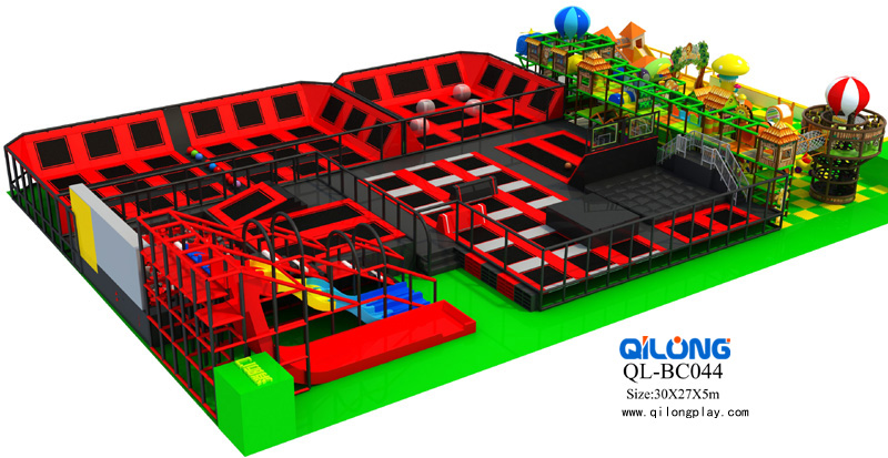 2018 New Professional Products large trampoline park