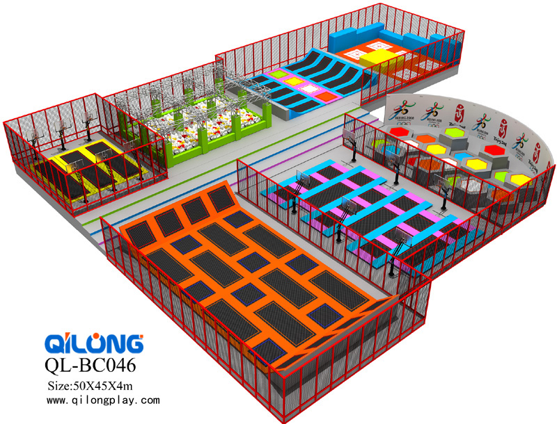 hot selling commercial trampoline Indoor Trampoline Park for Sale Outdoor Trampoline Park