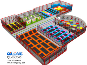 Cheer Amusement Business Plan Trampoline Park Indoor