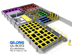 QL-BC072 trampoline bed