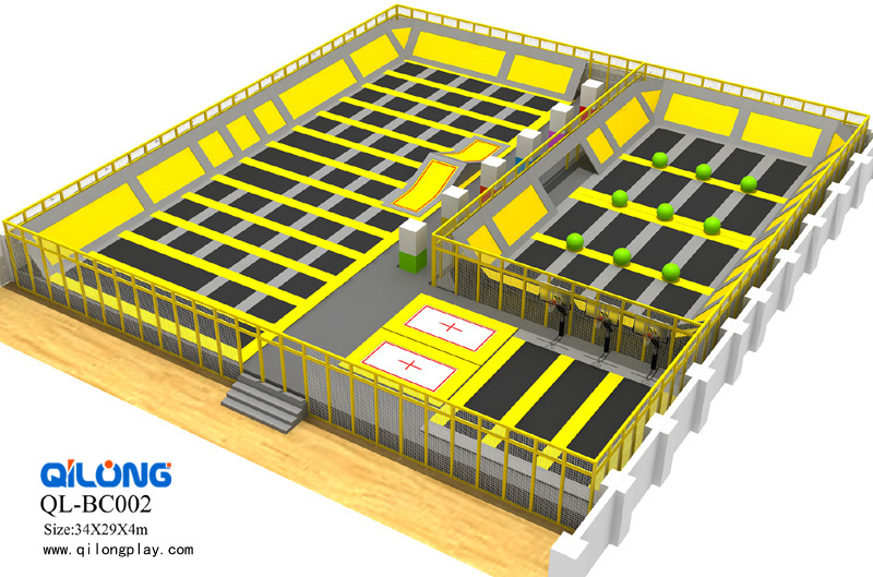 China Professional Manufacturer outdoor Trampoline Park for Sale