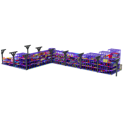 900 Square Meters Kids Indoor Playground Equipment