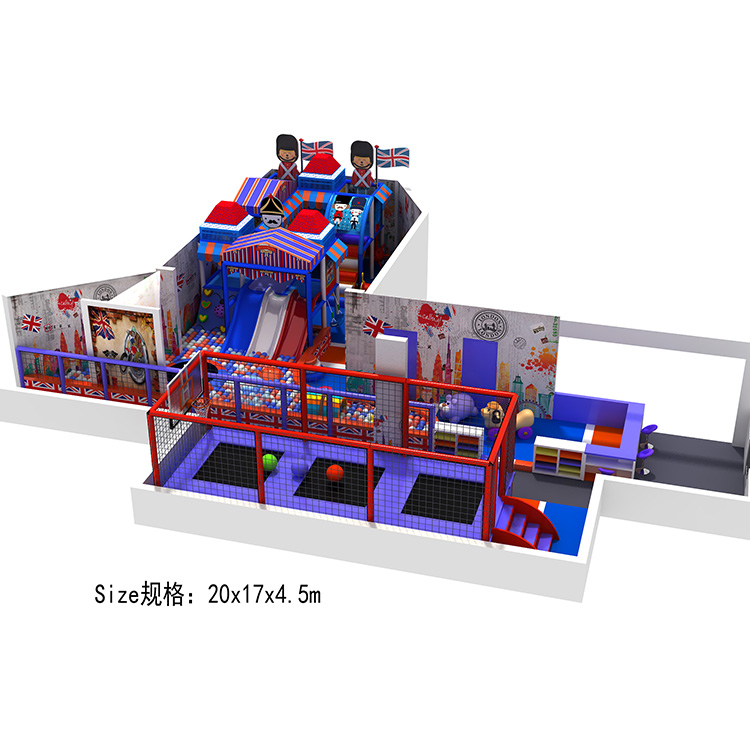 England Theme indoor playground