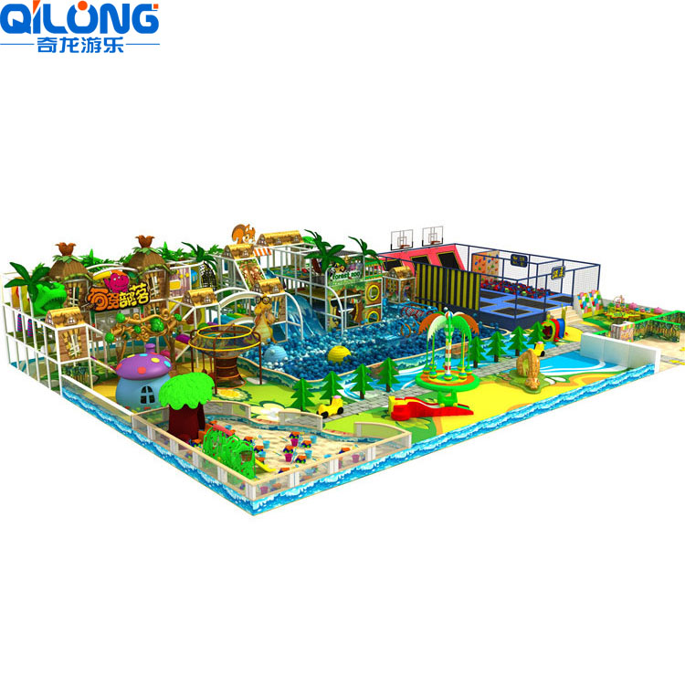 Soft Play indoor Amusement playground Park for sale