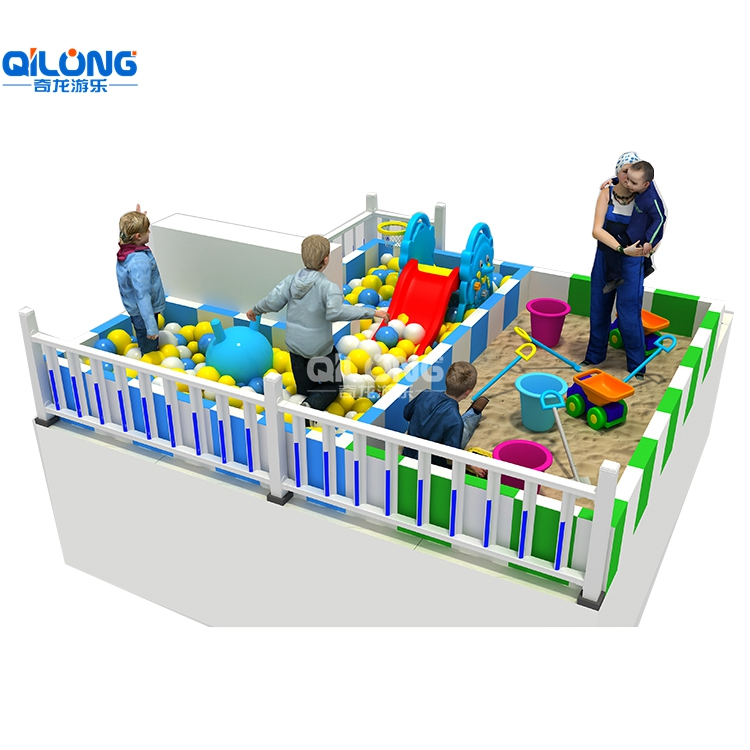 Mini kids entertainment equipment indoor playground for 16sqm