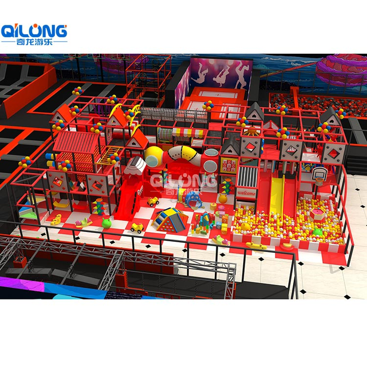 2019 Indoor Playground Cheap Indoor Playground hot sale with 207sqm