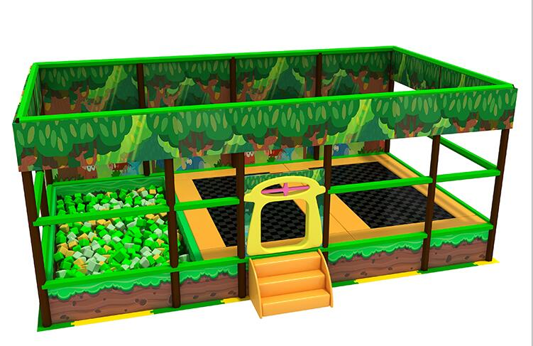 QILONG Kids Indoor trampoline park equipment