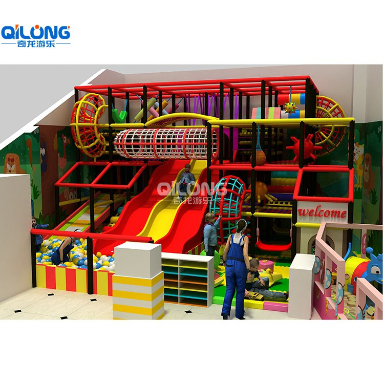 Children Soft Play Playground Equipment with 350sqm