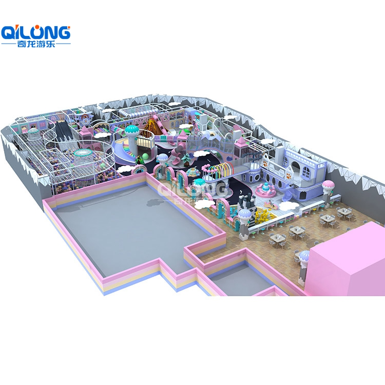 Indoor Playground and Traffic Twon and Ball Poor with 1000sqm