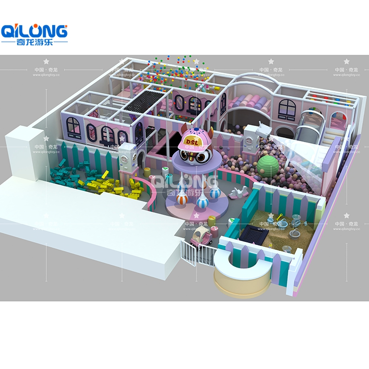 Good Looking Indoor Playground For Kids with 1000sqm