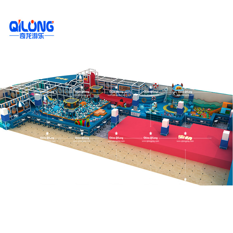 high quality indoor playground with ball pool for sale