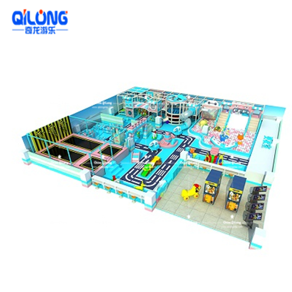 high quality indoor playground soft playground equipment for kids