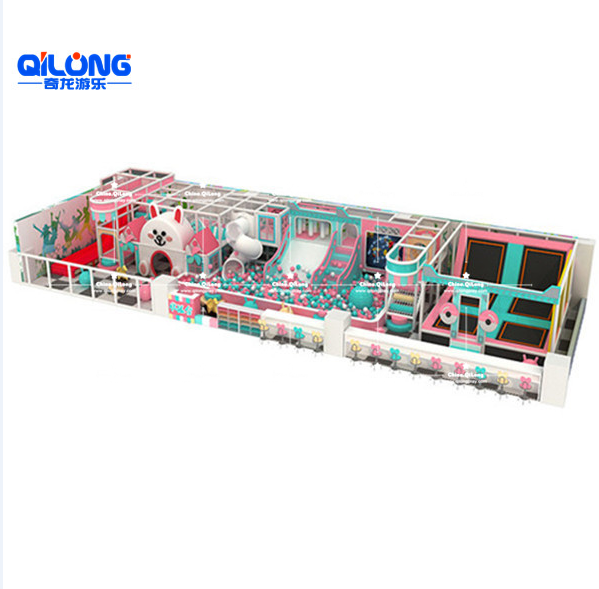 Custom Design Indoor Amusement Playground equipment for kids