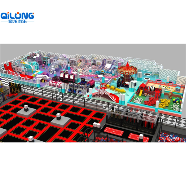 high quality new kids indoor trampoline park for sale