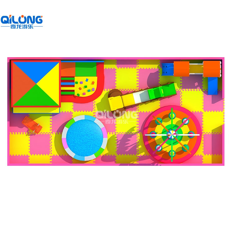 Colorful And Cherrful Indoor Playground For Kids