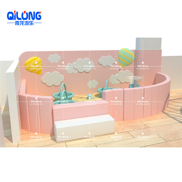 Modern style Hot sale indoor playground with ball pool for kids soft playground equipment