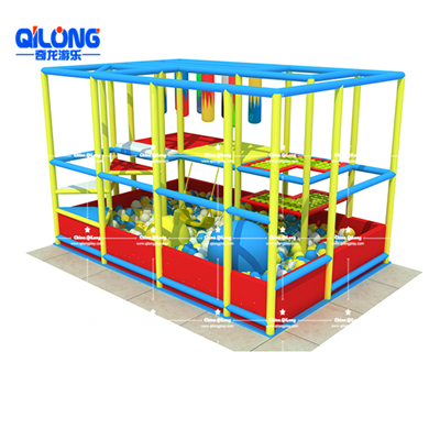 2019 hot sale indoor soft playground with ball pool for kids