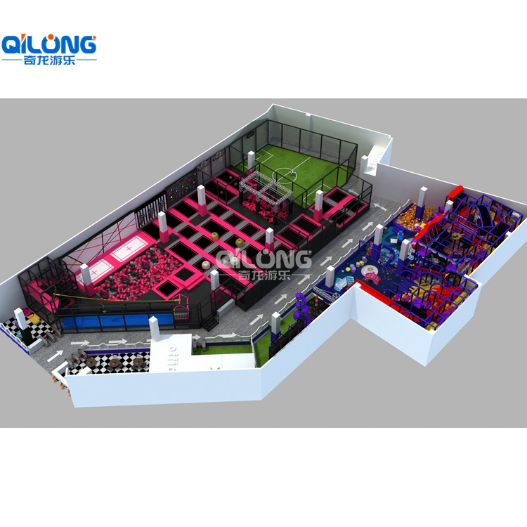 hot sale high quality Trampoline park for kids