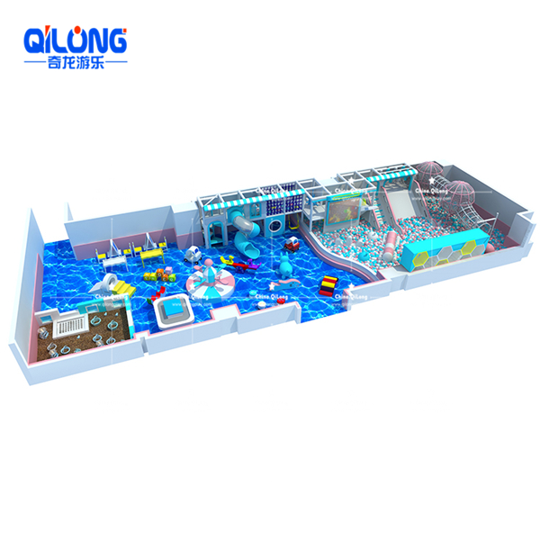 high quality customized indoor soft playground supplier