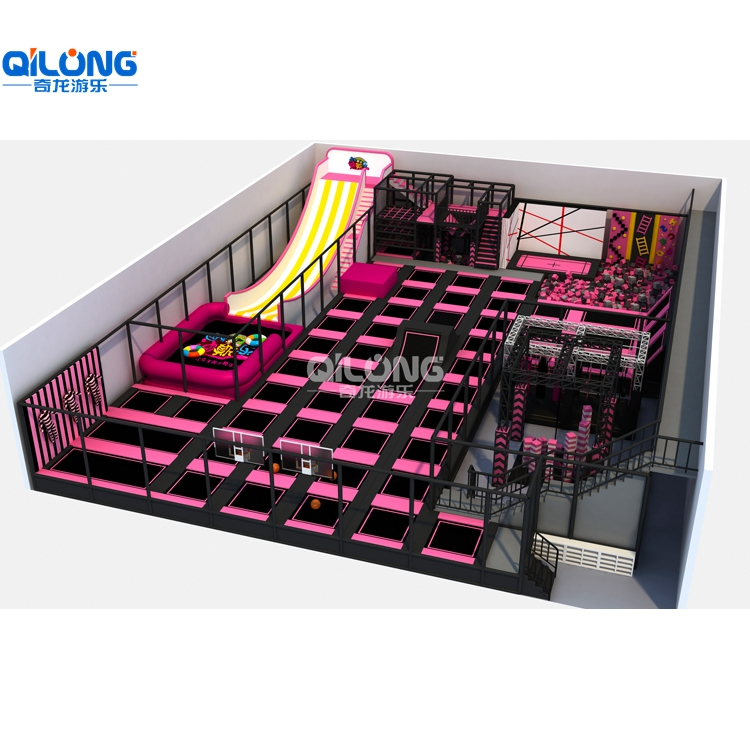 hot sale indoor Trampoline park for kids