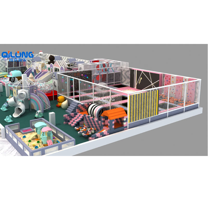 QILONG new arrival hot sale sports equipment of indoor playground for kids