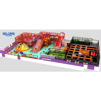 Commercial kids soft play equipment