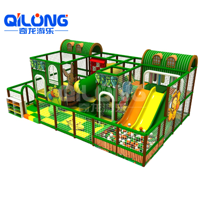 Indoor Playground with slides