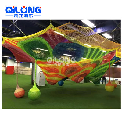 New Design Children Commercial Kids Small Indoor Playground Equipment with climbing net