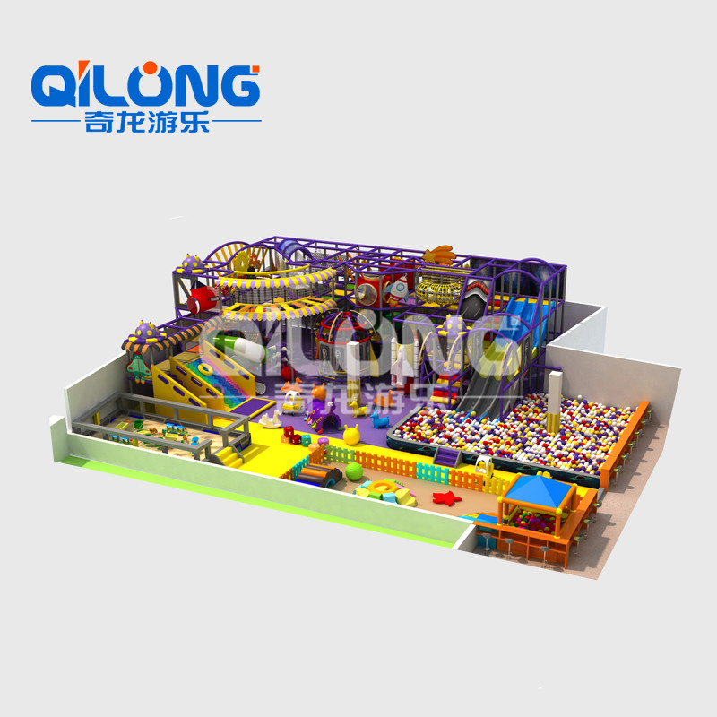 Free Style Indoor Playground For Commercial