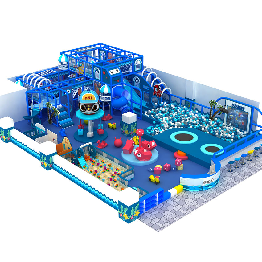 indoor soft play maze