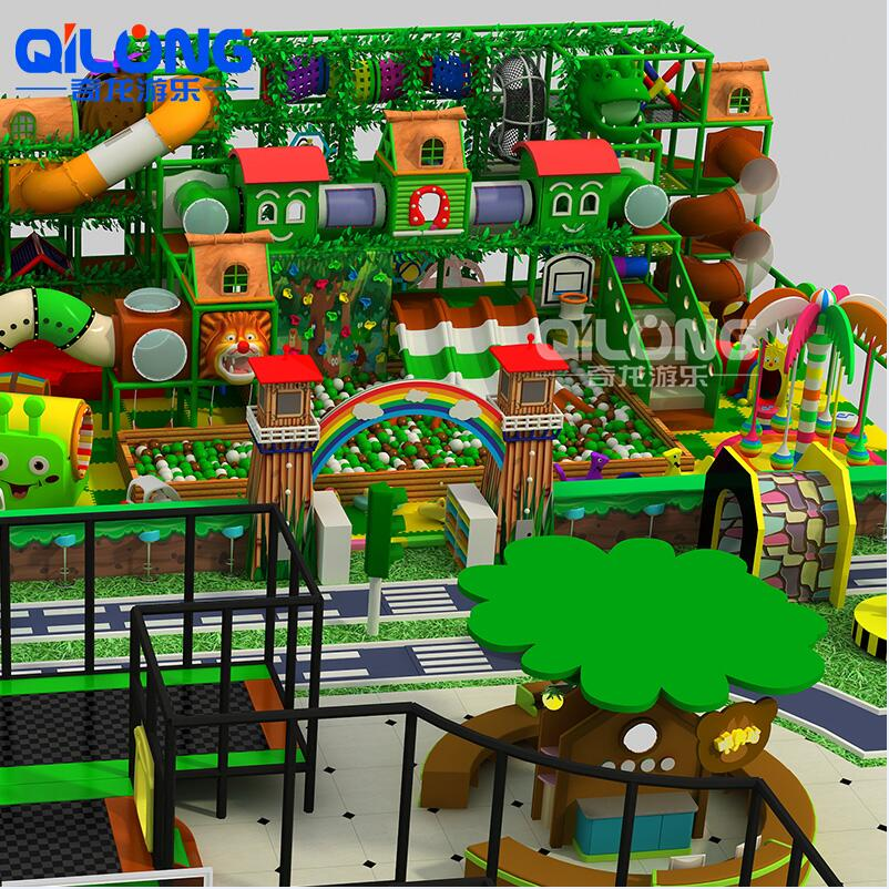 jungle kids theme playground