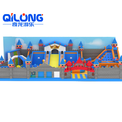 Castle theme Inflatable Bouncer